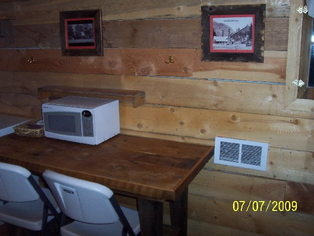 Miner's Cabins Table